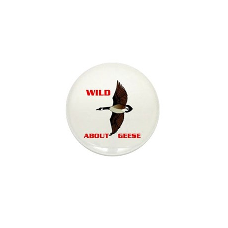 WILD ABOUT GEESE Mini Button