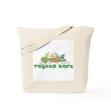 Vegans Rock Tote Bag
