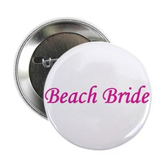 Beach Bride Button