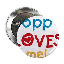 "Poppy Loves Me 2.25"" Button"