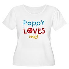 Poppy Loves Me Plus Size T-Shirt