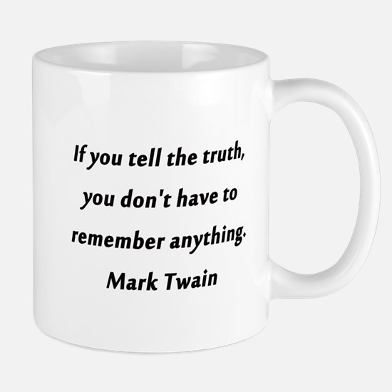 Twain On Truth Mug