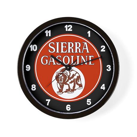 Sierra Gasoline Wall Clock