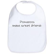 Pomapoos make friends Bib