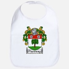 Flannery Coat of Arms Bib