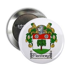 """Flannery Coat of Arms 2.25"""" Button (10 pack)"""