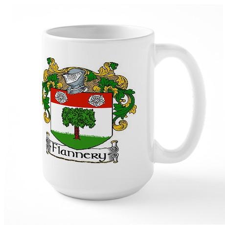 Flannery Coat of Arms Large Mug
