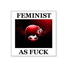 FEMINIST AS FUCK Sticker