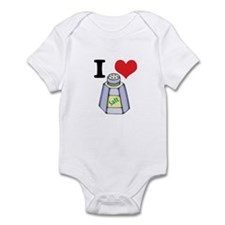 I Heart (Love) Salt Infant Bodysuit