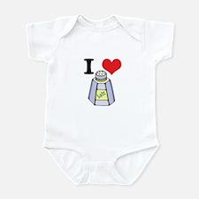 I Heart (Love) Salt Infant Bodysuit