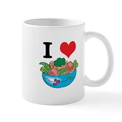 I Heart (Love) Salad Mug