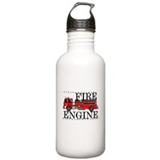 Red Fire Engine Water Bottle