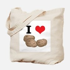 I Heart (Love) Potatoes Tote Bag