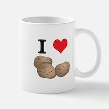 I Heart (Love) Potatoes Mug