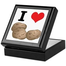 I Heart (Love) Potatoes Keepsake Box
