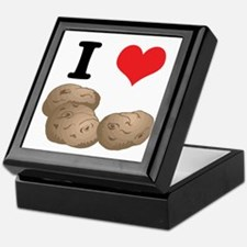 I Heart (Love) Potatoes Keepsake Box