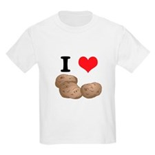 I Heart (Love) Potatoes Kids T-Shirt