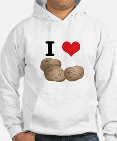 I Heart (Love) Potatoes Hoodie