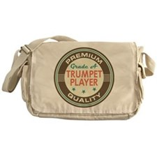 Trumpet Player Vintage Messenger Bag