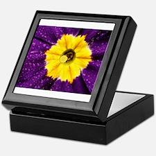Purple Primrose Close Up Color Explosion Keepsake