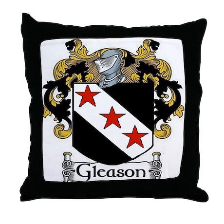 Gleason Coat of Arms Throw Pillow