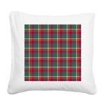 Tartan - Brisbane Square Canvas Pillow