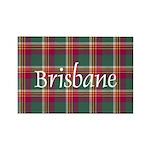 Tartan - Brisbane Rectangle Magnet