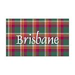 Tartan - Brisbane 35x21 Wall Decal