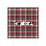 Tartan - Brisbane Square Sticker 3
