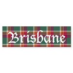 Tartan - Brisbane Sticker (Bumper)