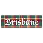 Tartan - Brisbane Sticker (Bumper 10 pk)