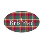 Tartan - Brisbane Oval Car Magnet