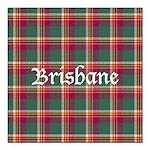 Tartan - Brisbane Square Car Magnet 3