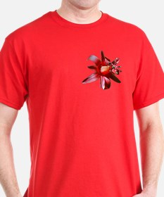 Passiflora Red T-Shirt