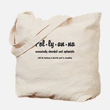 Pollyanna Definition Tote Bag