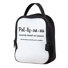 Pollyanna Definition Neoprene Lunch Bag