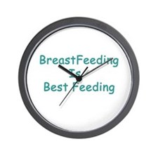 BreastFeeding Is Best Wall Clock