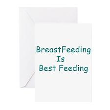 BreastFeeding Is Best Greeting Cards (Pk of 10