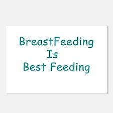 BreastFeeding Is Best Postcards (Package of 8)