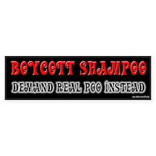 Demand Real Poo Bumper Stickers