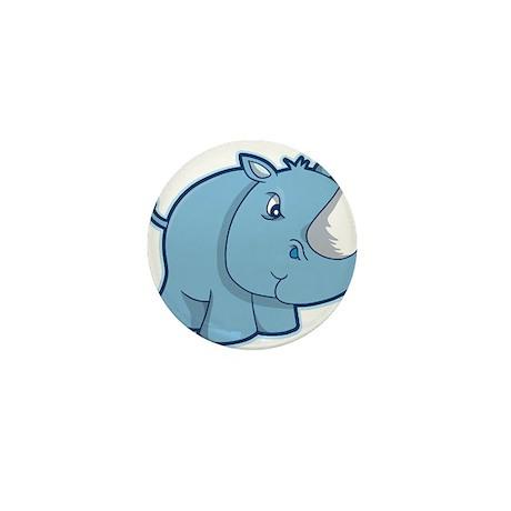 Blue Rhino Mini Button (10 pack)