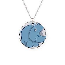 Blue Rhino Necklace