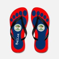 Cute Belize Flip Flops