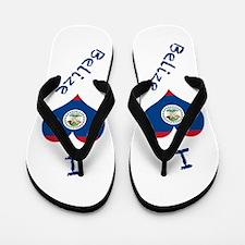Funny Belize Flip Flops