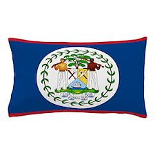 Funny Belize flag Pillow Case