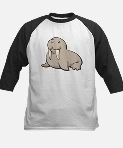 Cartoon Walrus Baseball Jersey