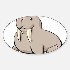 Cartoon Walrus Decal