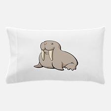 Cartoon Walrus Pillow Case