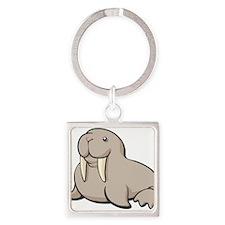 Cartoon Walrus Keychains