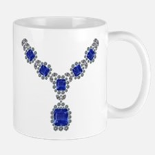 Sapphire and Diamond Necklace Mug